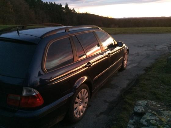 BMW at Sunset 2