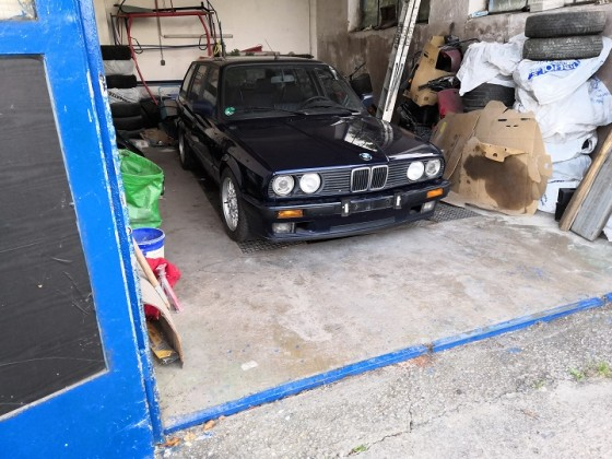 Mein 5ter BMW - komplett Restauriert, bald mit IS