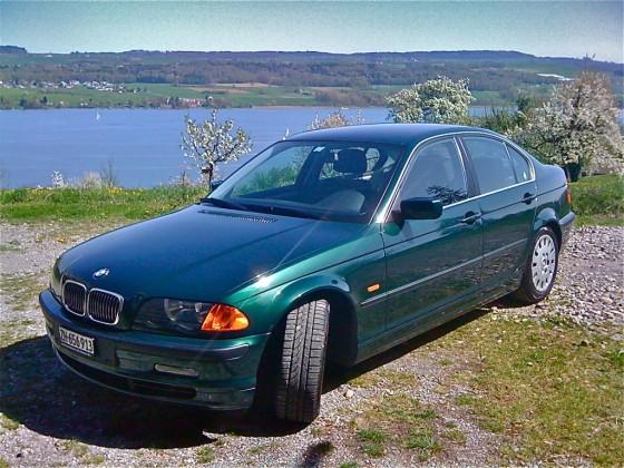 BMW 328i bei sich zuhause