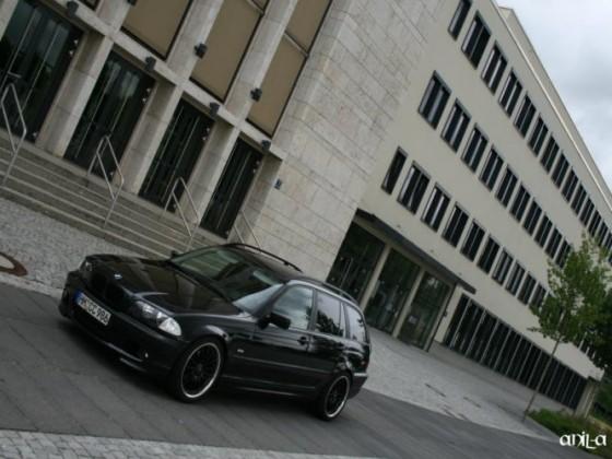 Bmw E46 Touring Black Edition