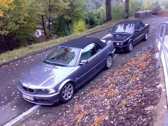 E46 Cabrio + E30 Cabrio