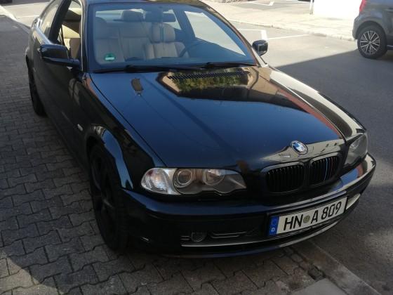 My BMW e46 (Black Pearl)