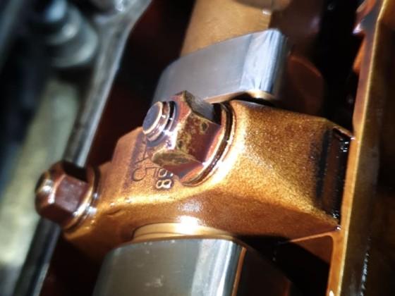 Nockenwelle Auslass Zylinder 4