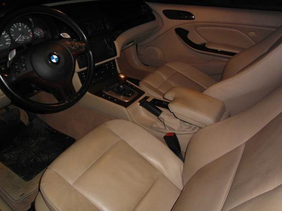 BMW 325Ci Cabrio Innenraum