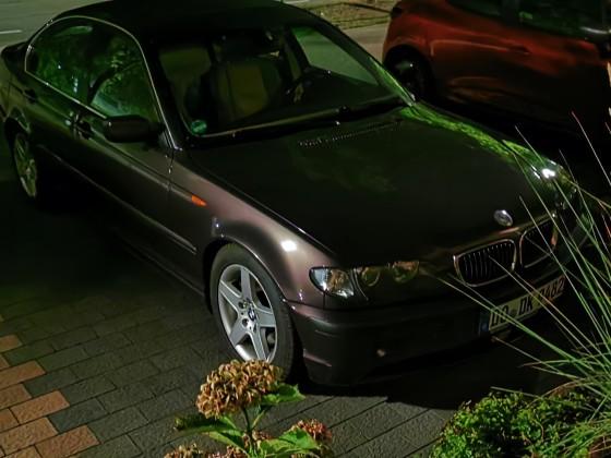 BMW 325i SMG Nachtaufnahme