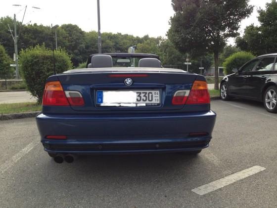 Mein 330Ci Cabrio