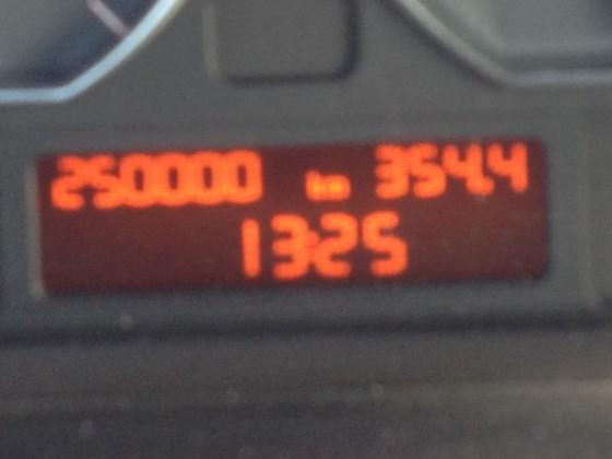 250000 km