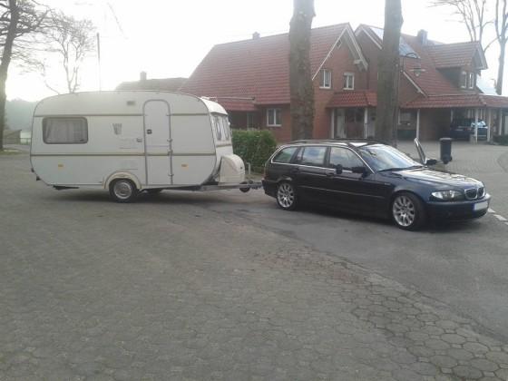 E46 + Tabbert Comtesse de luxe