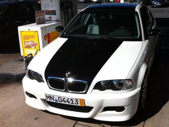 Hier mein 1er BMW