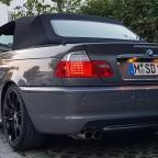 330Ci Special Edition Stratusgrau/Zimt