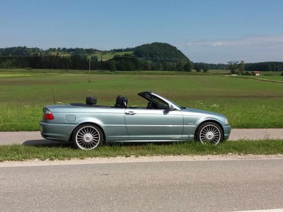 320 CI  Cabrio grau-grün-metallic