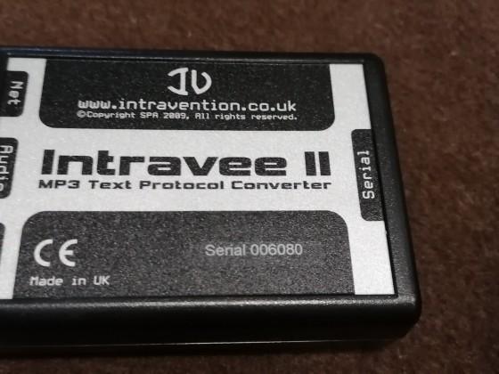 Intravee II
