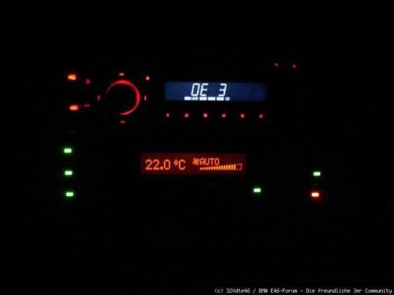 Integration DIN-Radio Nacht
