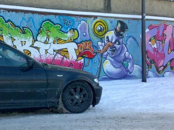 Winter 2012 - keine Angst vor´m Schneemann ;-)