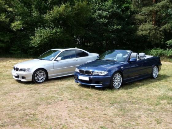 BMW 330ci Coupé + Cabrio